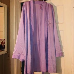 Savage X Fenty  satin short robe